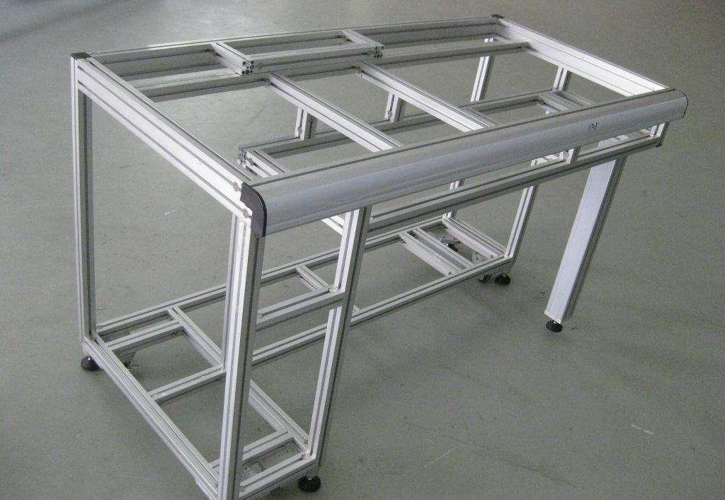 工作台铝型材框架