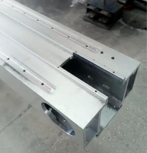 铝型材CNC深加工产品 UV打印机大梁  大型写真机横梁