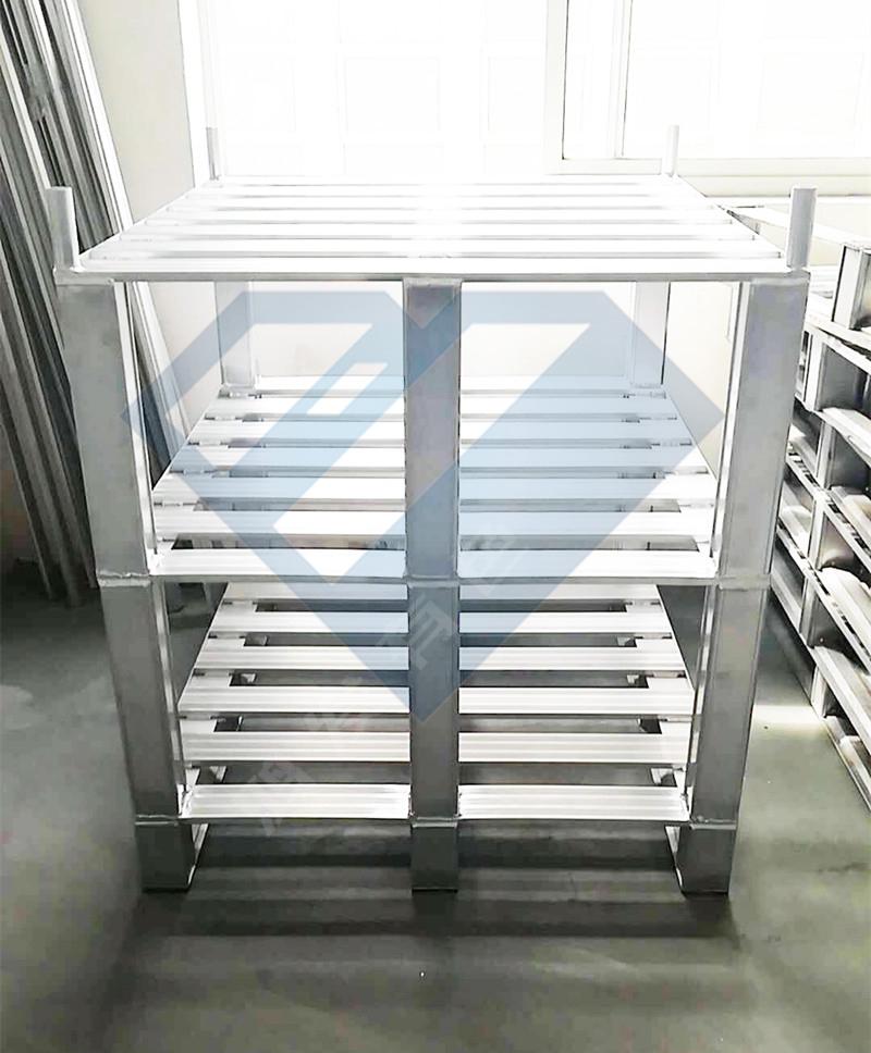 三层铝合金托盘