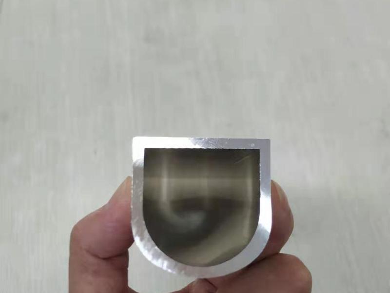 上海铝型材厂家定制半圆形铝合金型材 非标铝管生产
