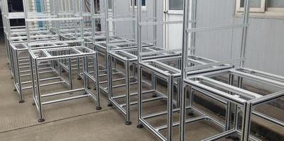 流水线铝型材框架的优点