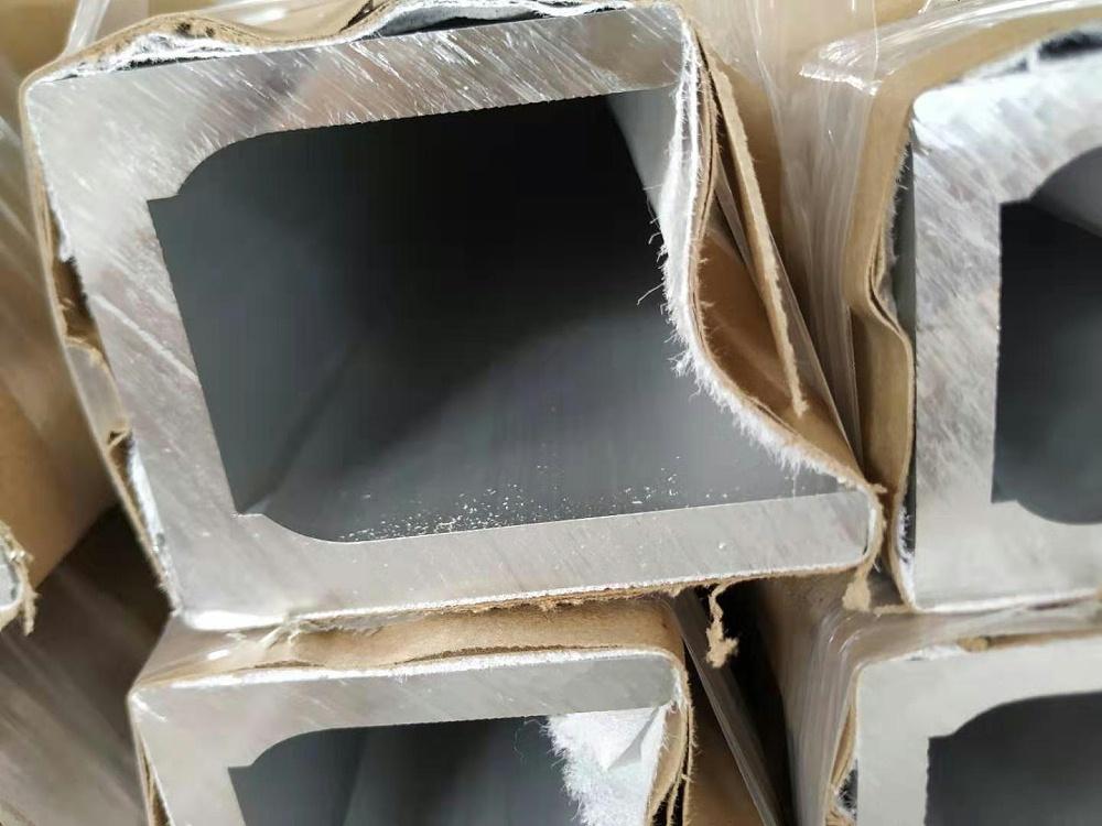 铝型材厂家定制不对称厚壁槽铝型材69*90mm截面