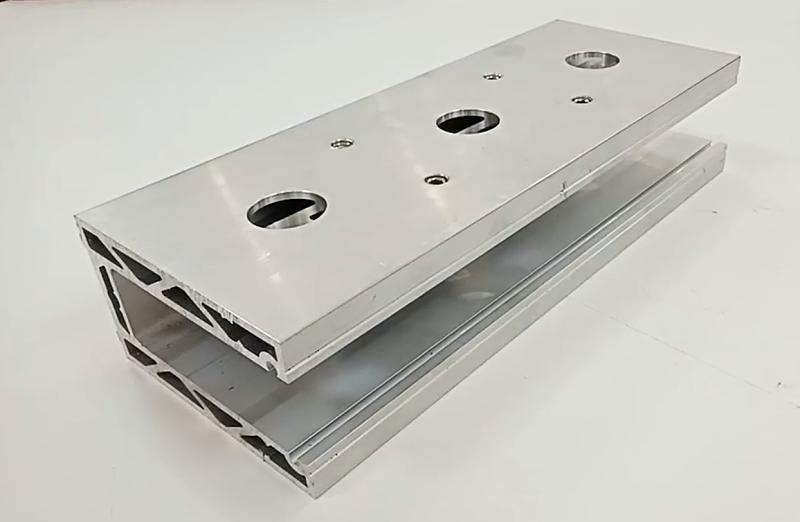 铝型材钻孔加工
