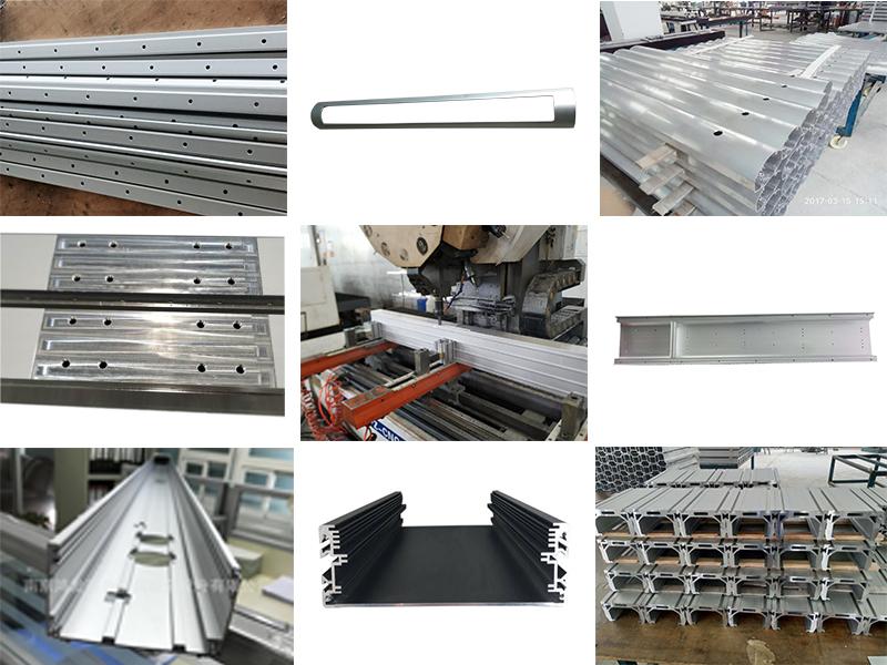 铝型材深加工产品
