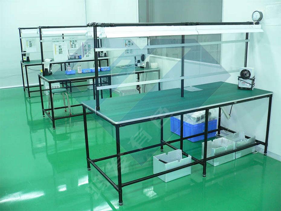 轻便的铝合金精益管工作台生产厂家