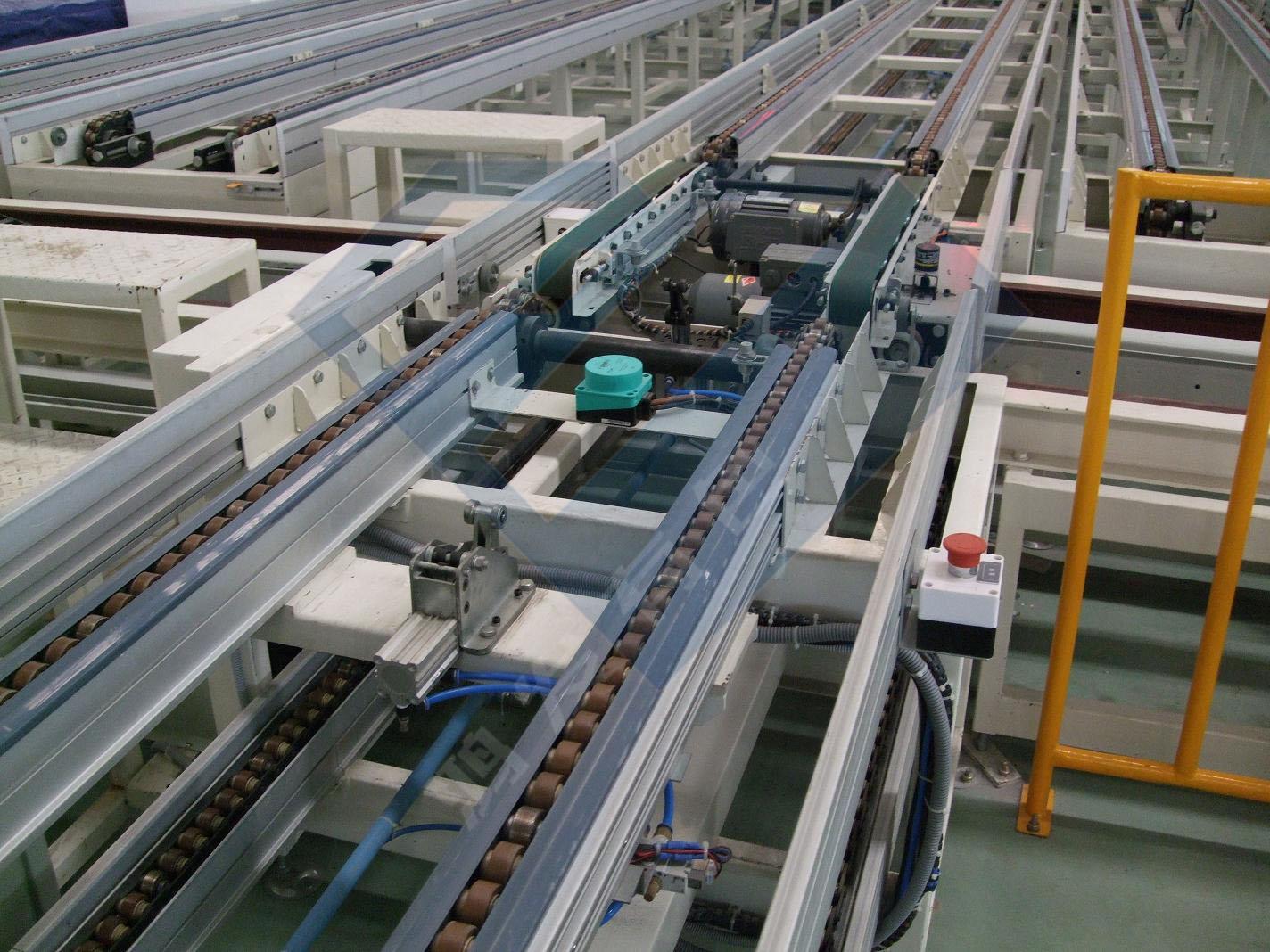输送设备厂家定制倍速链输送线