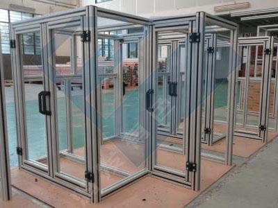 南京厂家定制铝合金设备外框(铝合金框架)