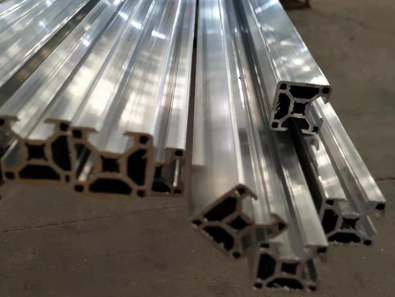 江苏厂家供应3030欧标两面封槽R角2mm厚工业铝型材