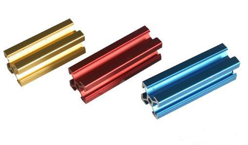 彩色氧化铝型材