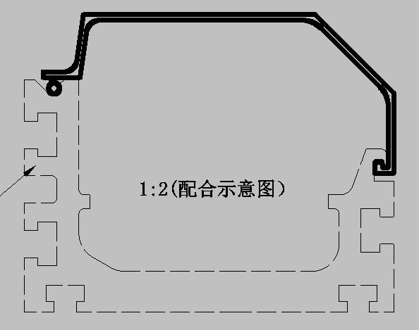 大线槽图纸