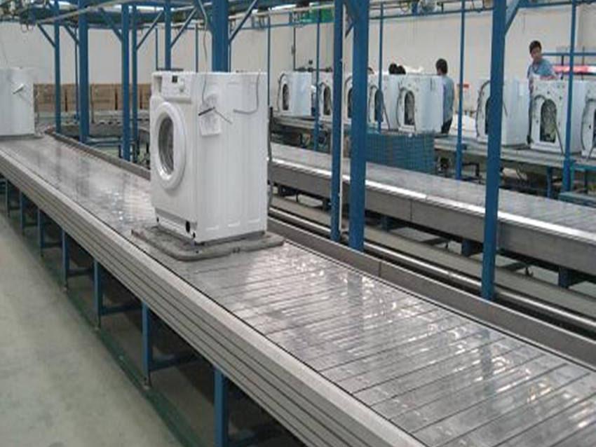 板链洗衣机输送线