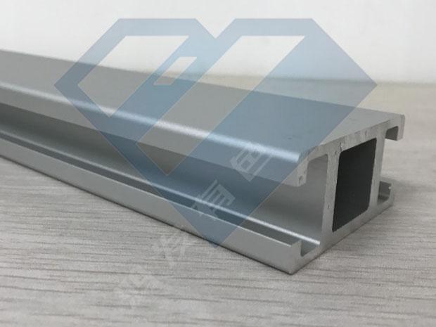 国标槽导轨铝型材生产厂家  双槽铝型材