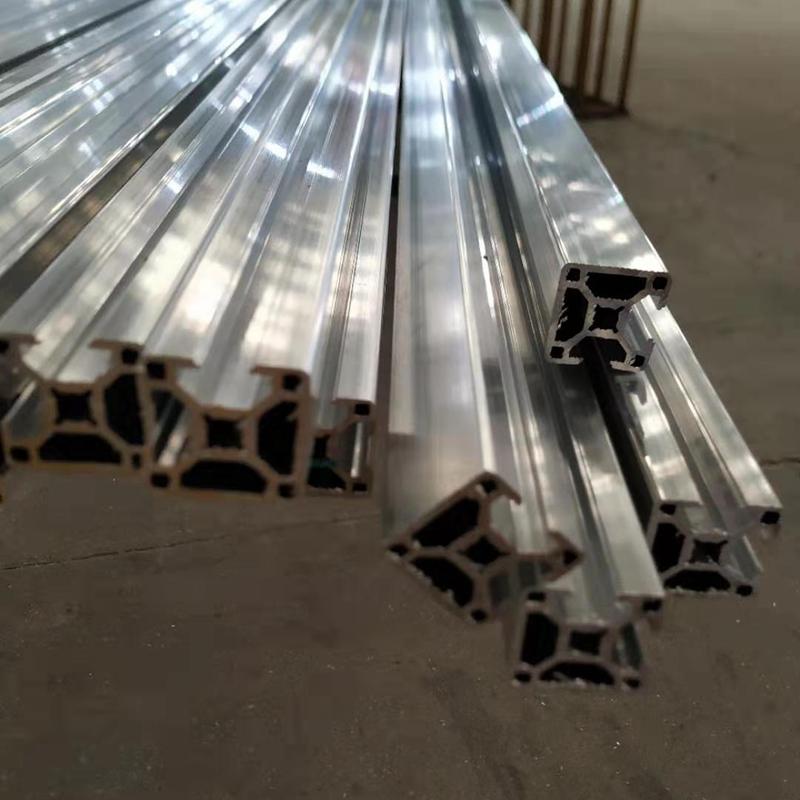 4040欧标两面封槽工业铝合金型材厂家