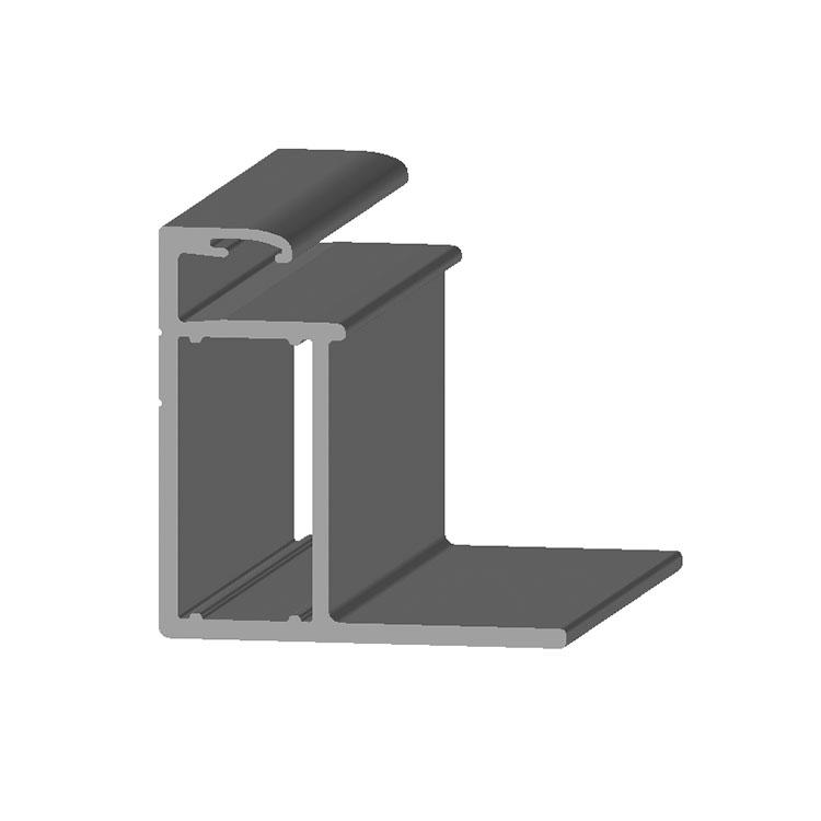 截面35*35 长宽1956*992太阳能边框铝型材清仓处理