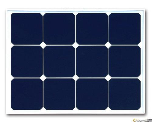 太阳路灯电池板