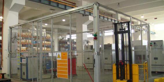 铝型材工业防护围栏