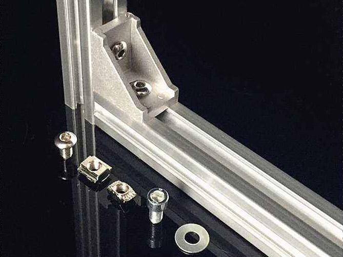 工业铝型材角件连接