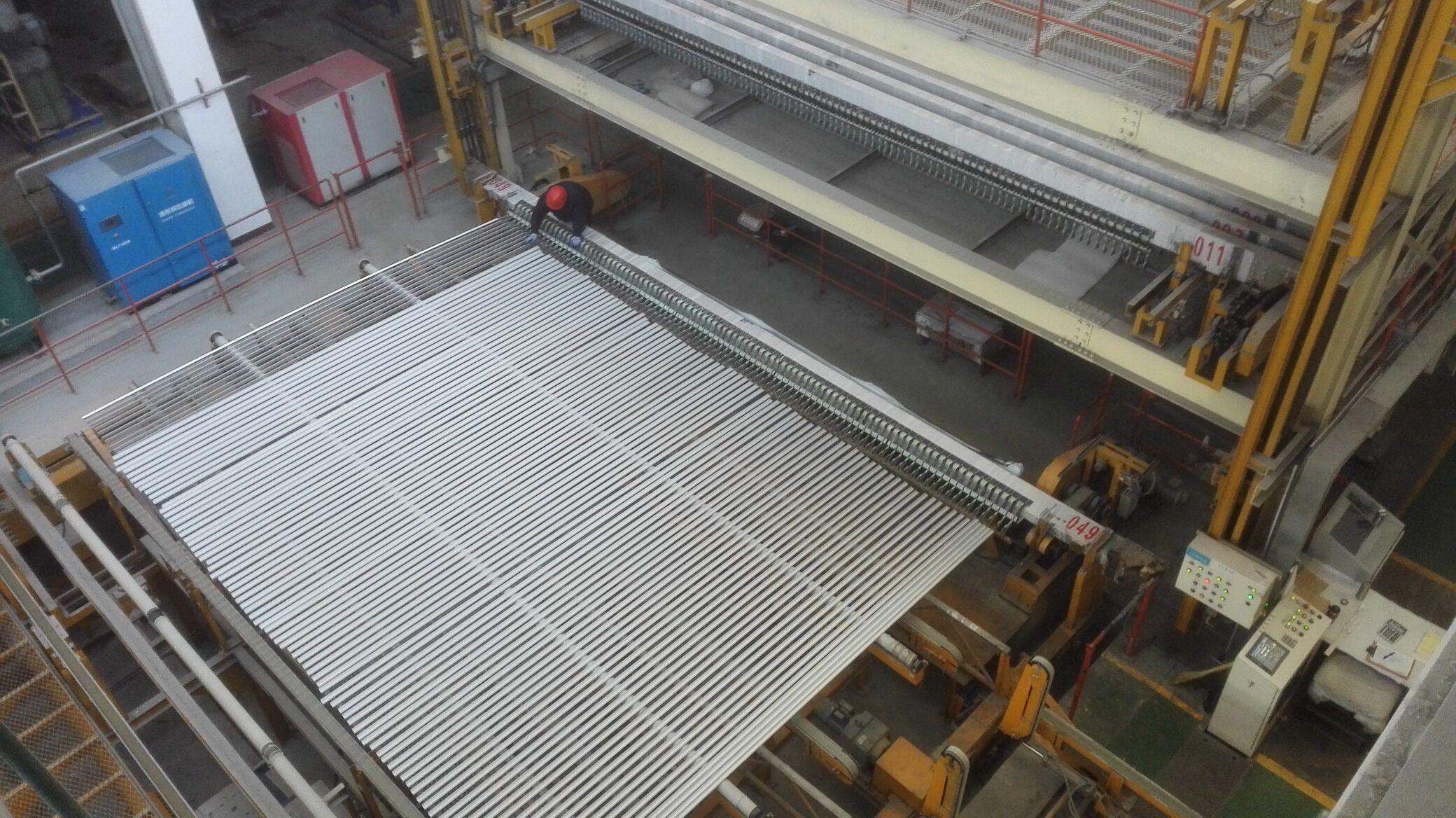 工业铝型材氧化车间