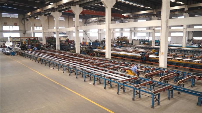 铝型材挤压生产