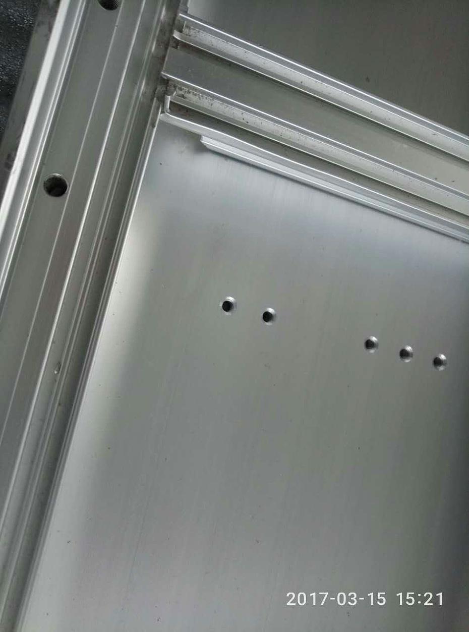 铝型材焊接加工