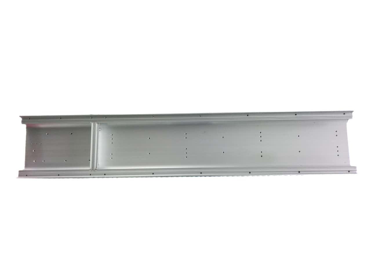 照明灯壳铝合金打孔攻丝焊接加工/cnc深加工