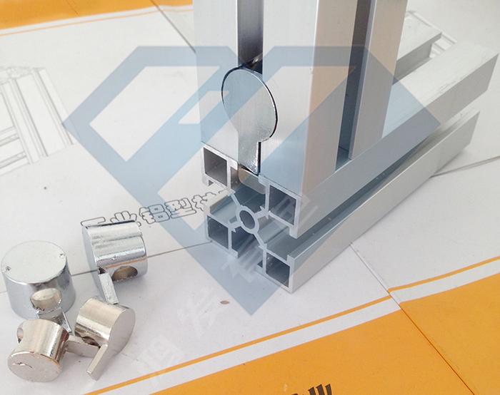 工业铝型材哨子连接