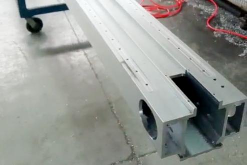 铝型材CNC深加工产品 UV打印机大梁  大型写真机横梁加工