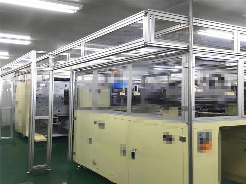 流水线铝型材框架工程