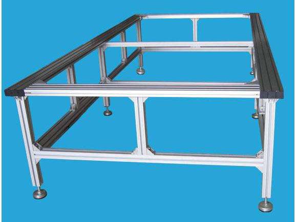 挤压厂家定制铝型材工作台框架