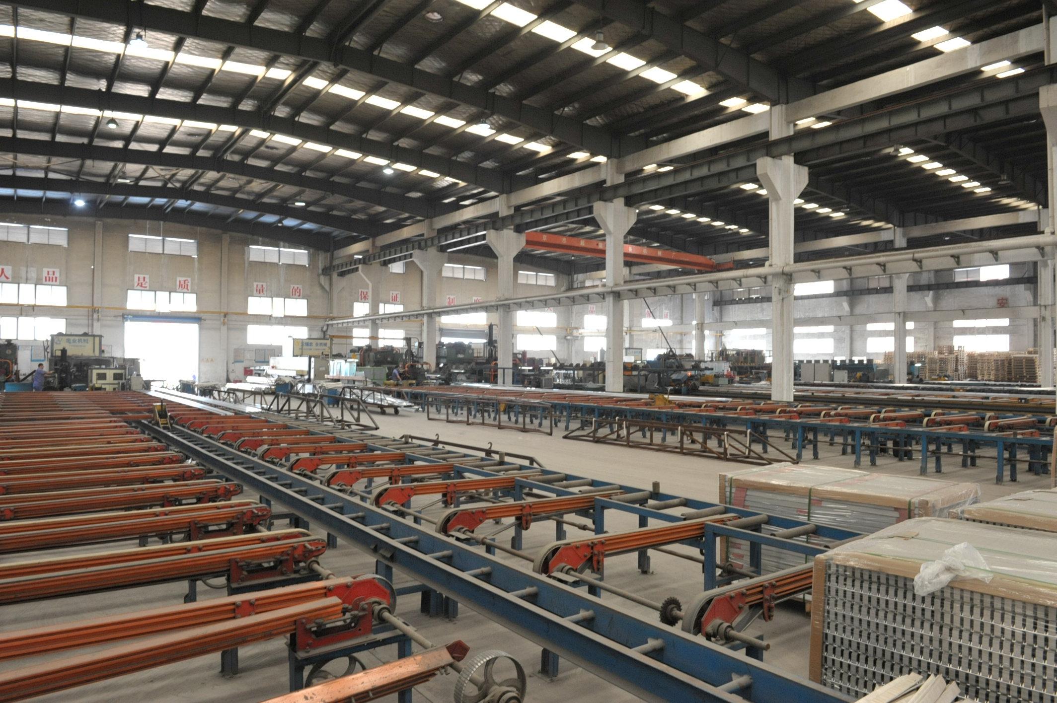 工业铝型材挤压车间