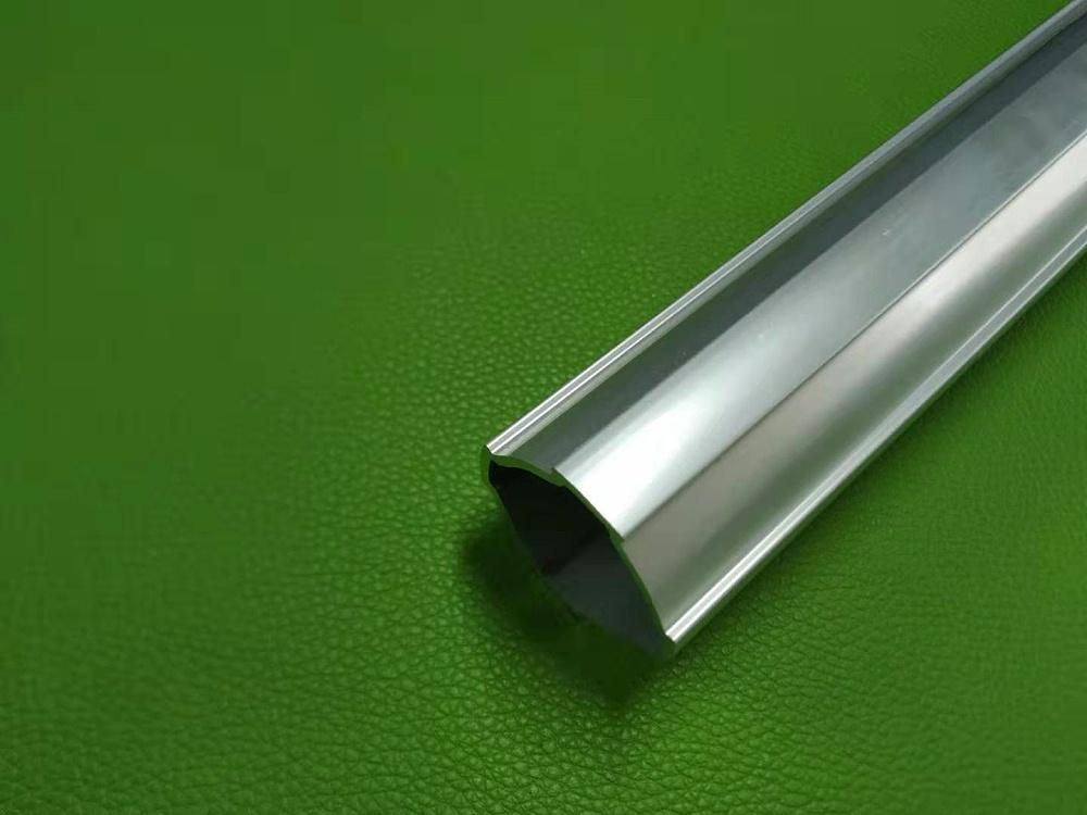 直径40mm大截面铝合金线棒 精益管铝型材厂家开模定制