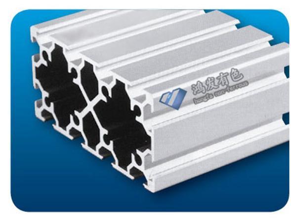 源头厂家生产60120欧标四槽工业铝型材