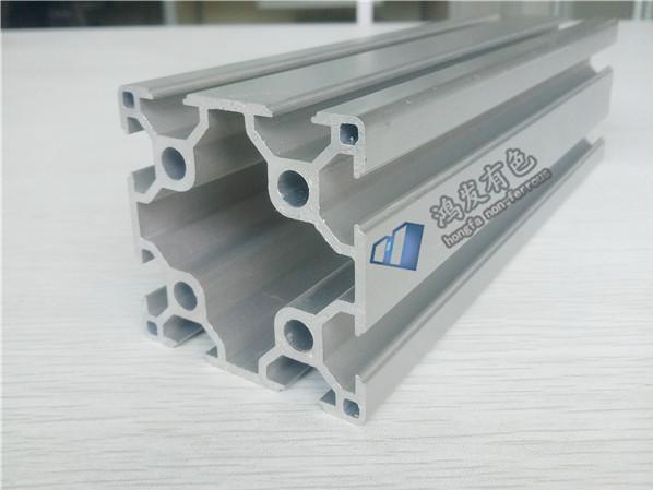 厂家直销6060欧标双槽铝型材