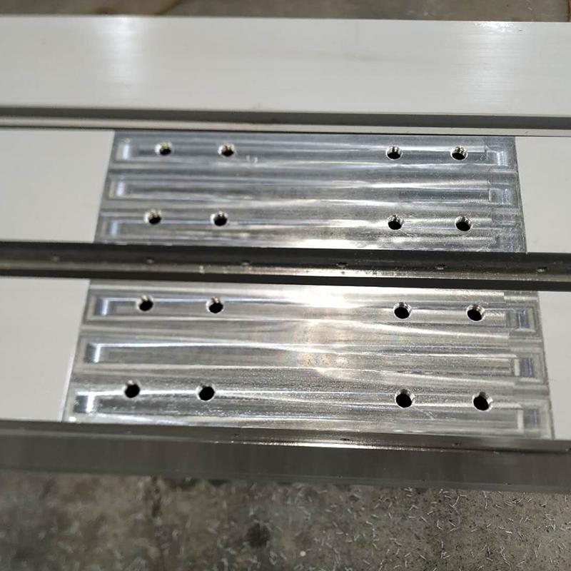 铝型材铣切钻孔