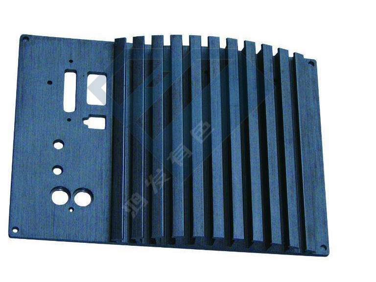 cnc铣切加工功放铝型材