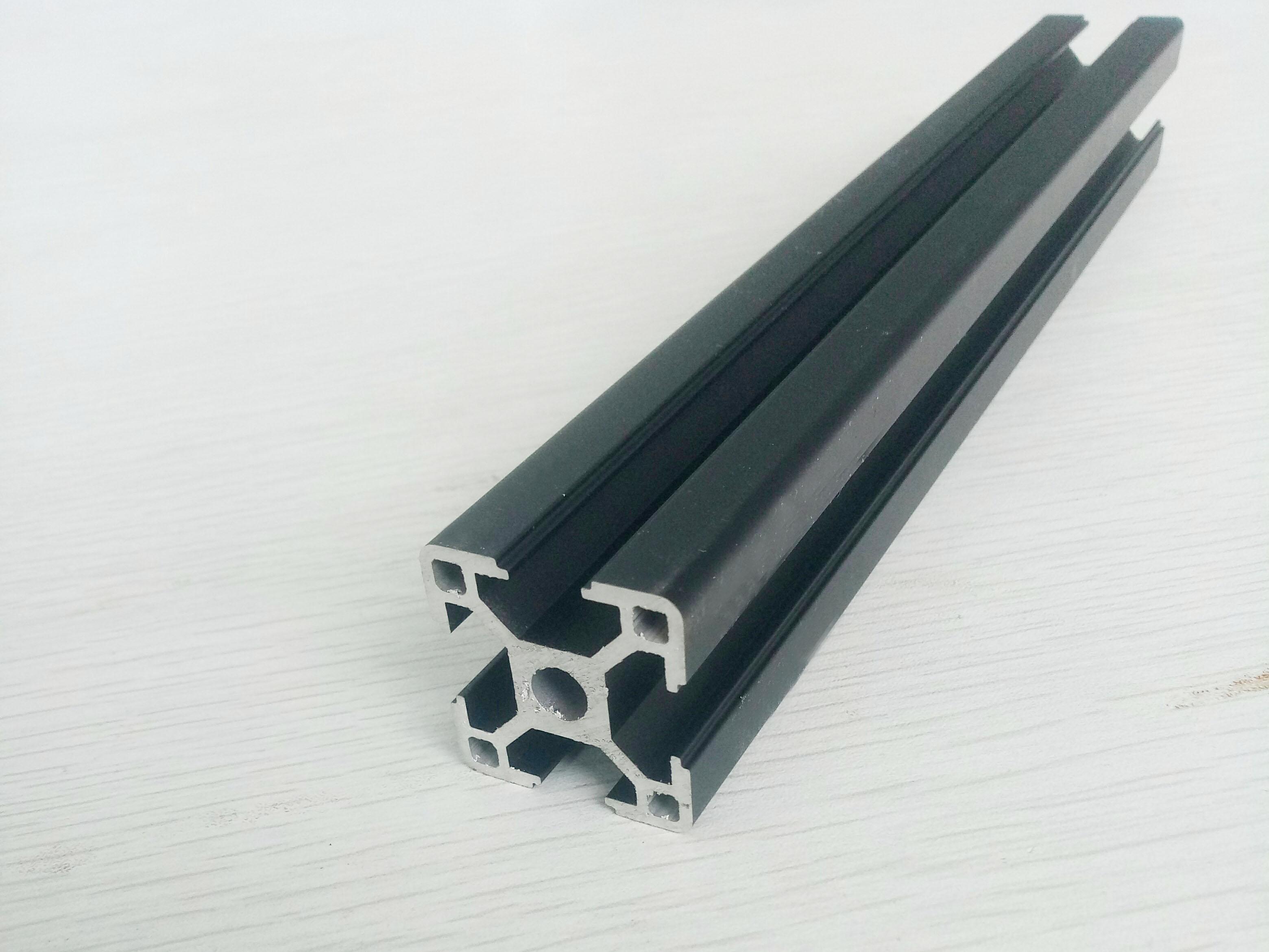 3030黑色工业铝型材