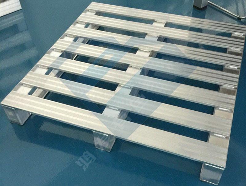 南京厂家定制铝合金托盘 载重3吨 动载1吨铝托盘