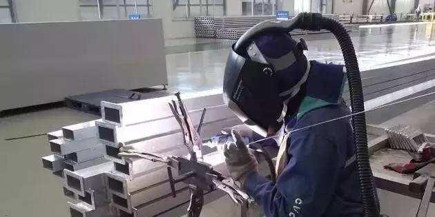铝型材的焊接方法和工艺简介