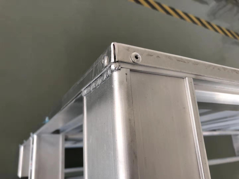 铝合金托盘细节图