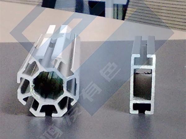 八棱柱展示展览铝型材厂家定制