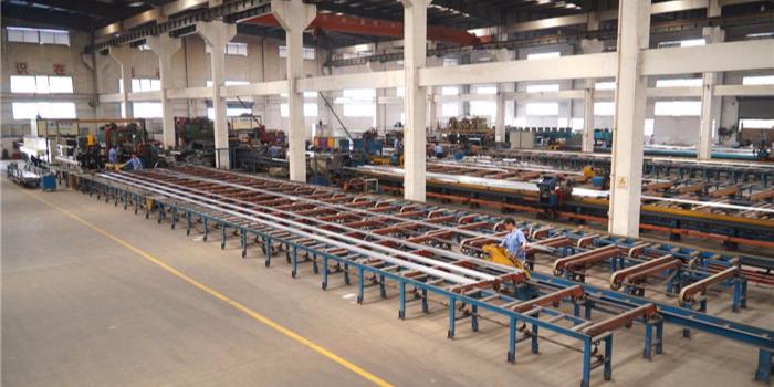 工业铝型材生产校直注意事项