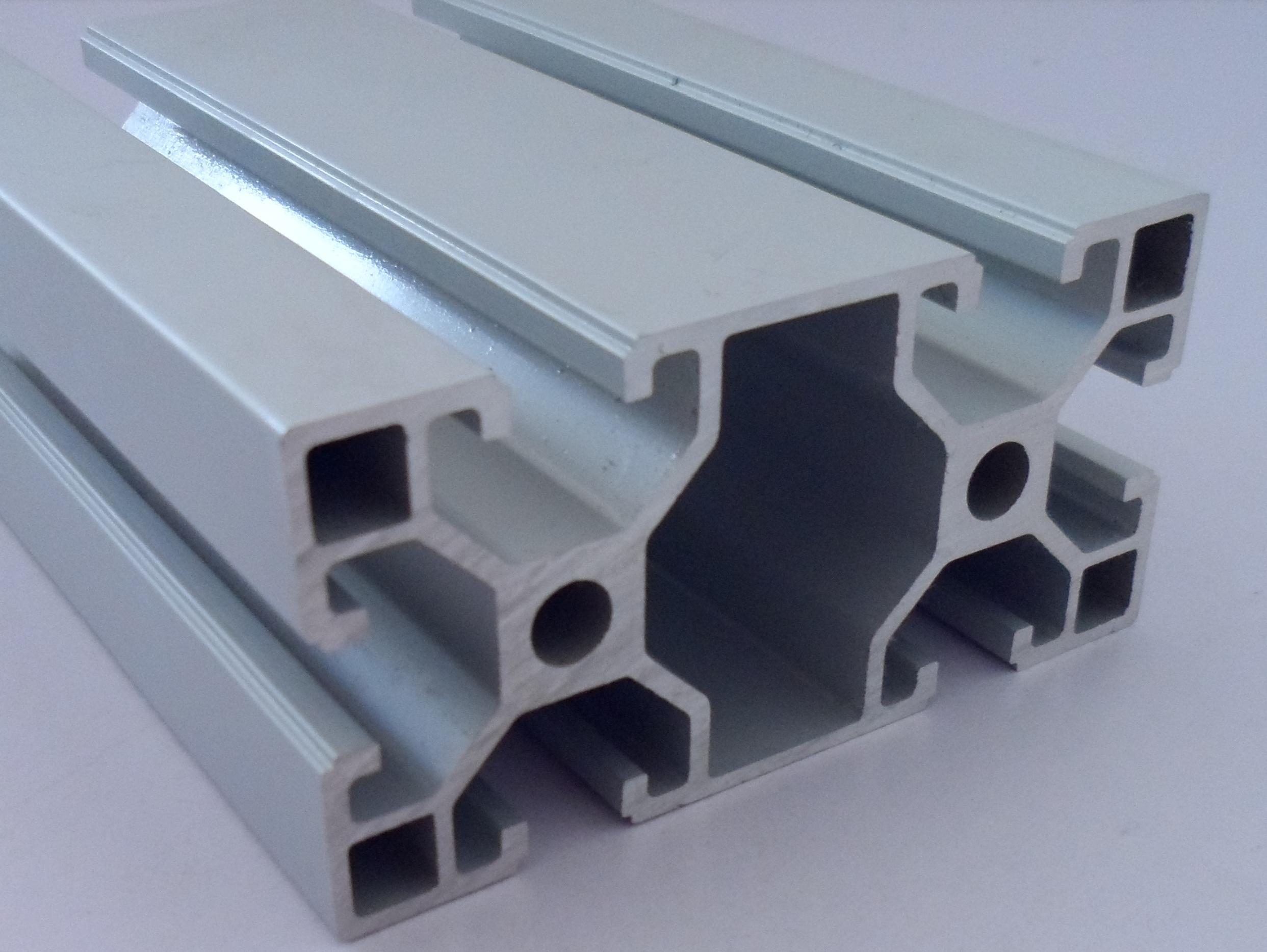 源头厂家生产4080欧标直角铝材