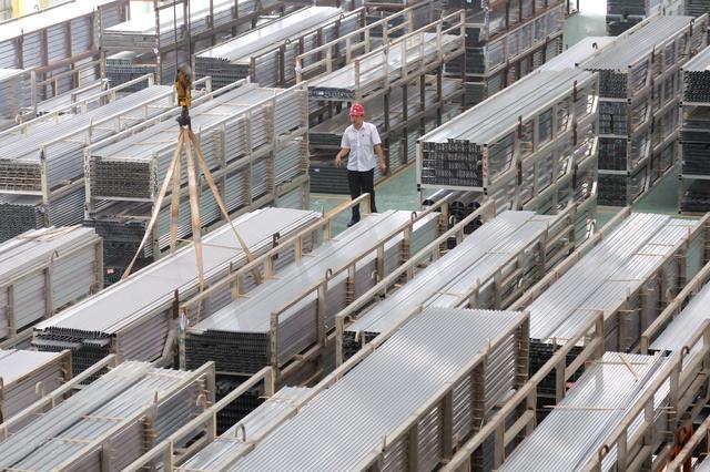 工业铝型材仓库