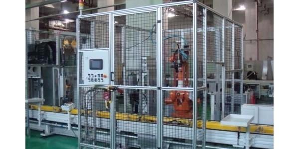 机器人围栏为什么选用铝型材搭建?