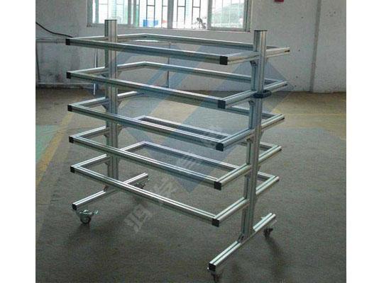铝型材周转车/手推车生产厂家