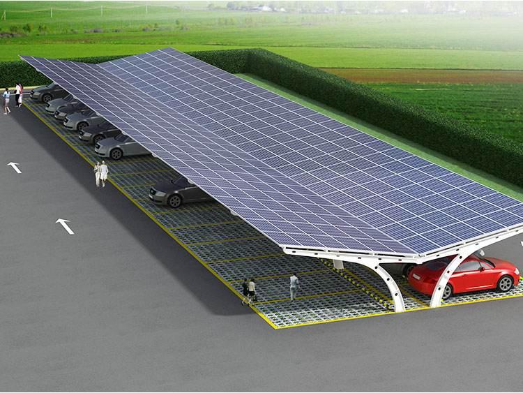 车棚顶太阳能电站