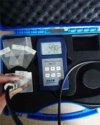 涡流测厚仪测量