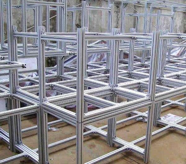 流水线铝型材框架