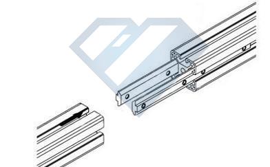 槽条连接件组装框架