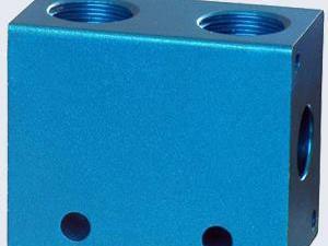 机加工氧化着色铝制品